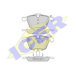 Колодки тормозные передние (ABE) C1G061ABE