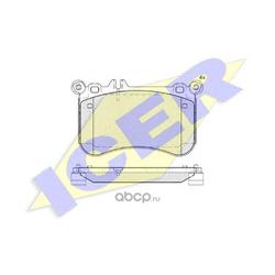 Колодки тормозные, комплект, передние (Icer) 182042