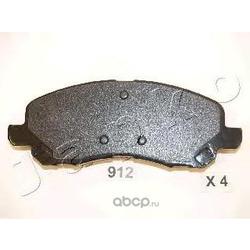 Комплект тормозных колодок, дисковый тормоз (JAPKO) 50912