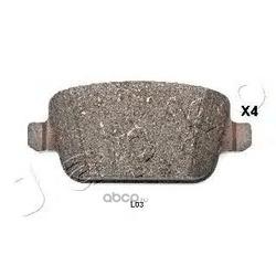 Комплект тормозных колодок, дисковый тормоз (JAPKO) 51L03