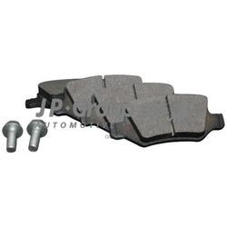 Колодки тормозные дисковые, комплект (JP Group) 1363701410
