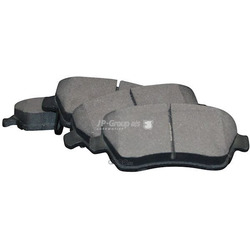 Комплект тормозных колодок, дисковый тормоз (JP Group) 4763601010