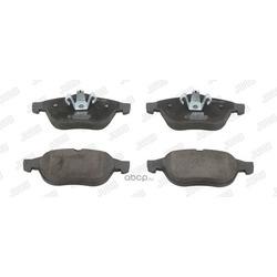 Комплект тормозных колодок, дисковый тормоз (Jurid) 573245J