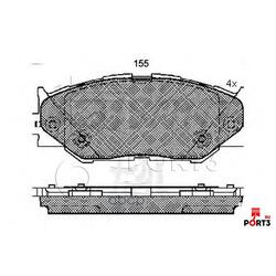 Комплект тормозных колодок, дисковый тормоз (Kashiyama) D2277
