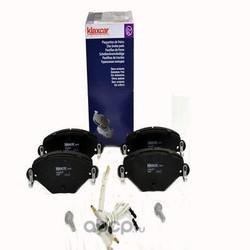 Комплект тормозных колодок, дисковый тормоз (Klaxcar) 24867Z