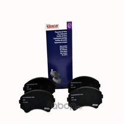 Комплект тормозных колодок, дисковый тормоз (Klaxcar) 24993Z