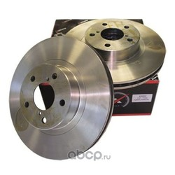 Диск тормозной передний вентилируемый (KORTEX) KD0032