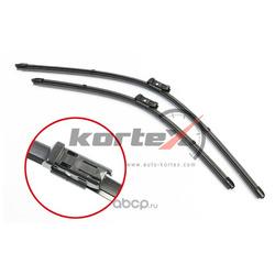 Щетка стеклоочистителя AUDI A6 (4G) 12- (650525) к-т., KORTEX, (KORTEX) KP113