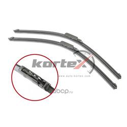 Щетка стеклоочистителя AUDI A6 (4F) 04-11 (550/550) к-т. (KORTEX) KP128