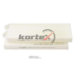Фильтр салонный CITROEN C4 PICASSO/BERLINGO/PEUGEOT PARTNER/3008/5008 08- (к-т 2шт) (KORTEX) KC0109