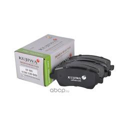 Колодки тормозные передние с пластинами KUJIWA D1060BH40A NISSAN (KUJIWA) KUF9805