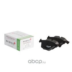 Колодки тормозные передние с пластинами KUJIWA 34116780711 BMW (KUJIWA) KUF0222