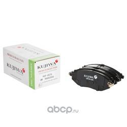 Колодки тормозные передние с пластинами KUJIWA 96682858 GENERAL MOTORS (KUJIWA) KUF0570