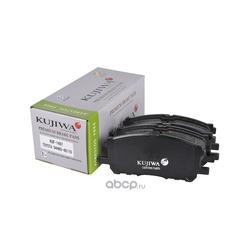 Колодки тормозные передние с пластинами KUJIWA 0446548110 TOYOTA (KUJIWA) KUF1497