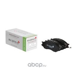 Колодки тормозные передние с пластинами KUJIWA 4106095F0A NISSAN (KUJIWA) KUF2435