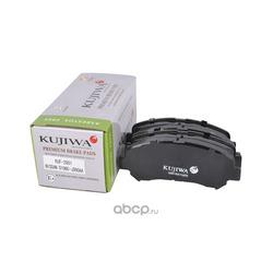 Колодки тормозные передние с пластинами KUJIWA D1060JD00A NISSAN (KUJIWA) KUF2801