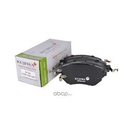 Колодки тормозные передние с пластинами KUJIWA 41060CA093 NISSAN (KUJIWA) KUF2901