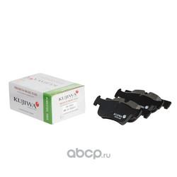 Колодки тормозные передние с пластинами KUJIWA 34116858910 BMW (KUJIWA) KUF32005