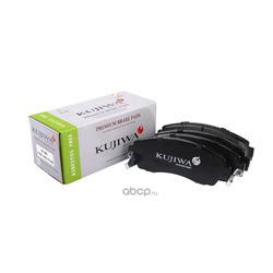 Колодки тормозные передние с пластинами KUJIWA 45022TP6A60 HONDA (KUJIWA) KUF8802