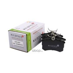 Колодки тормозные задние с пластинами KUJIWA 1H0698451E VAG (KUJIWA) KUR0019