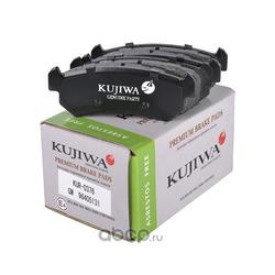 Колодки тормозные задние с пластинами KUJIWA 96405131 GENERAL MOTORS (KUJIWA) KUR0376
