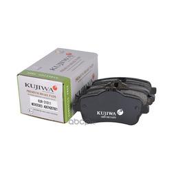 Колодки тормозные задние с пластинами KUJIWA A0064203320 MERCEDES BENZ (KUJIWA) KUR31011