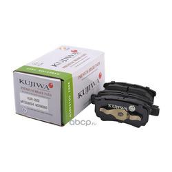 Колодки тормозные задние с пластинами KUJIWA MZ690350 MITSUBISHI (KUJIWA) KUR3502
