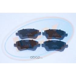 Колодки тормозные передние (Lex) 23973
