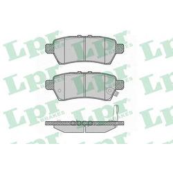Комплект тормозных колодок, дисковый тормоз (Lpr) 05P1377