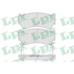 Комплект тормозных колодок, дисковый тормоз (Lpr) 05P759