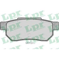 Комплект тормозных колодок, дисковый тормоз (Lpr) 05P072