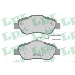 Комплект тормозных колодок, дисковый тормоз (Lpr) 05P1263