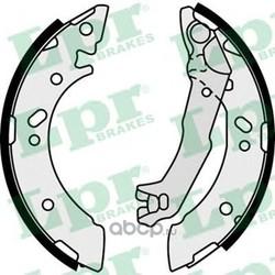 Комплект тормозных колодок (Lpr) 07710