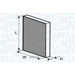 Фильтр, воздух во внутренном пространстве (MAGNETI MARELLI) 350203064120