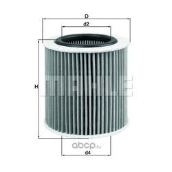 Масляный фильтр (Mahle/Knecht) OX387D1