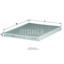 Фильтр, воздух во внутренном пространстве (Mahle/Knecht) LAK373