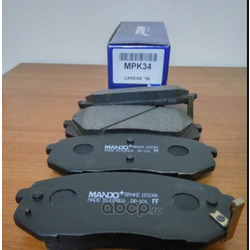 Колодки тормозные передние (Hyundai-KIA) 581013ZA10