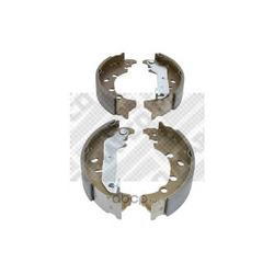 Комплект тормозных колодок (Mapco) 8760