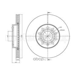 Тормозной диск (Metelli) 230734C