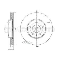 Тормозной диск (Metelli) 230894C