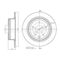 Тормозной диск (Metelli) 230903C