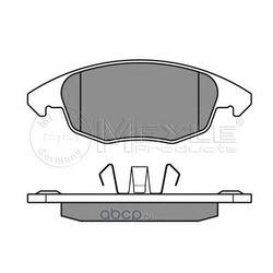 Комплект тормозных колодок, дисковый тормоз (Meyle) 0252453818