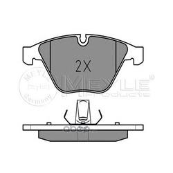 Комплект тормозных колодок (Meyle) 0252416120