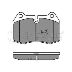 Комплект тормозных колодок, дисковый тормоз (Meyle) 0252147118