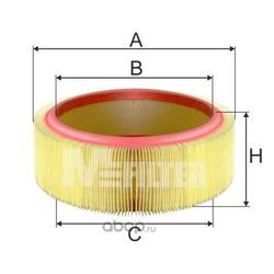 Фильтр воздушный (M-Filter) A580