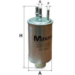 Топливный фильтр (M-Filter) DF3508