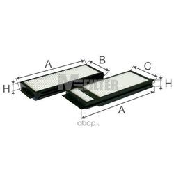 Фильтр салона (M-Filter) K90092