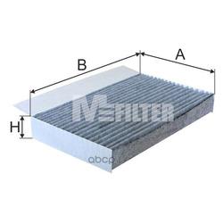 Фильтр салона (M-Filter) K9044C
