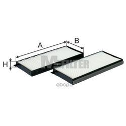 Фильтр салона (M-Filter) K90622