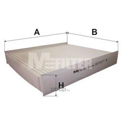Фильтр салона (M-Filter) K9104
